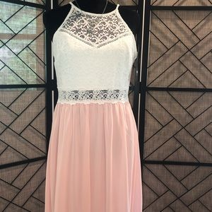 By & By light pink dress size 11